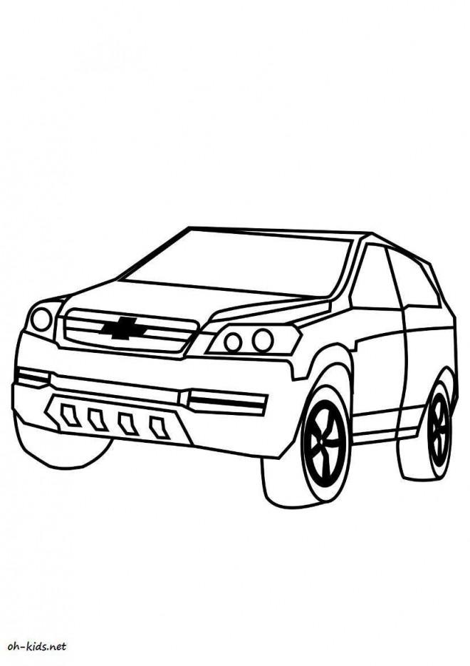 Coloriage et dessins gratuits Chevrolet 10 à imprimer