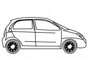 Coloriage et dessins gratuit Chevrolet 12 à imprimer