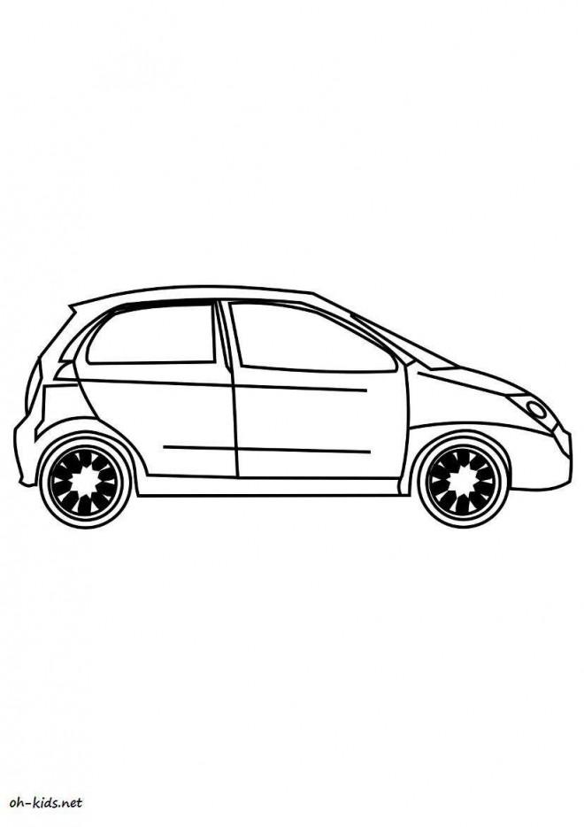 Coloriage et dessins gratuits Chevrolet 12 à imprimer