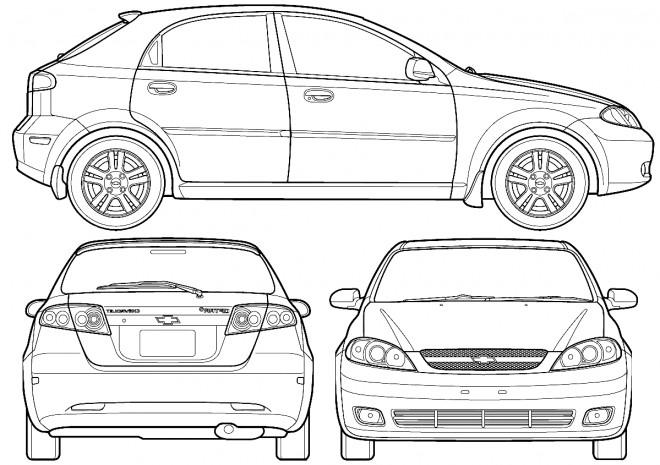 Coloriage et dessins gratuits Chevrolet 15 à imprimer