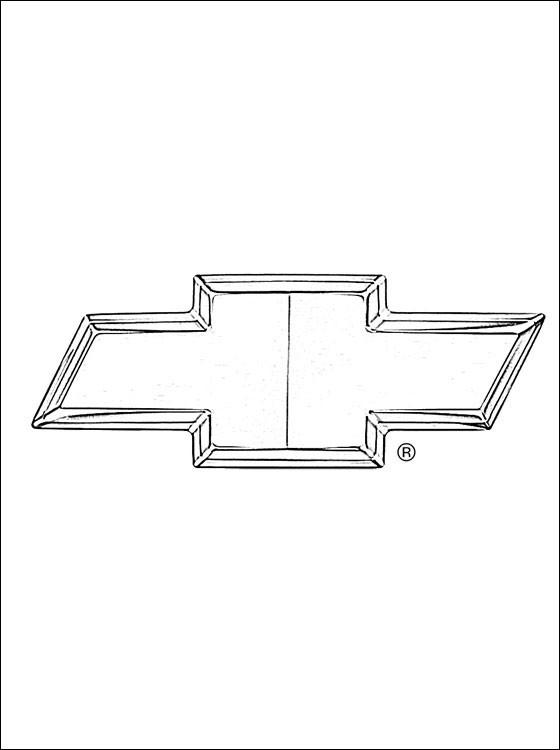 Coloriage et dessins gratuits Chevrolet 16 à imprimer