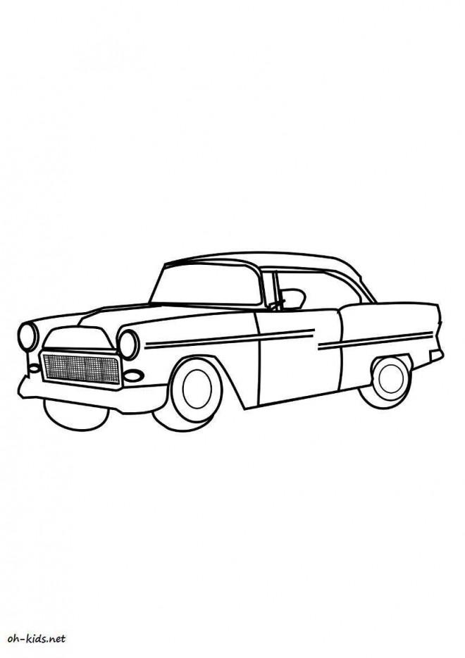 Coloriage et dessins gratuits Chevrolet 19 à imprimer