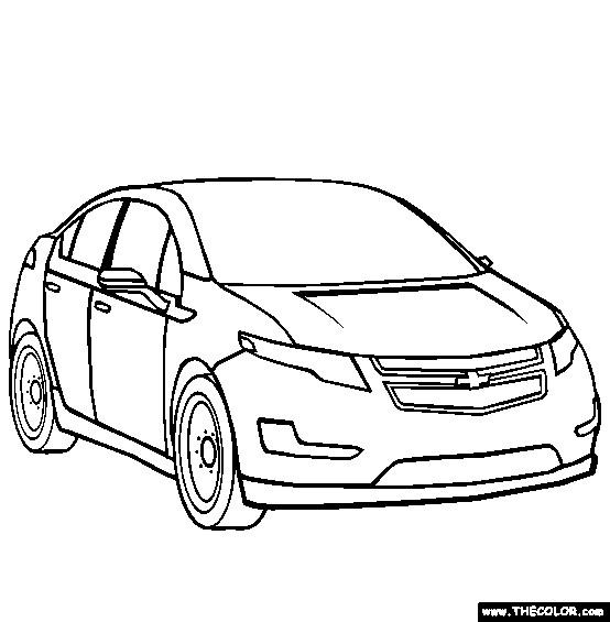 Coloriage et dessins gratuits Chevrolet 22 à imprimer