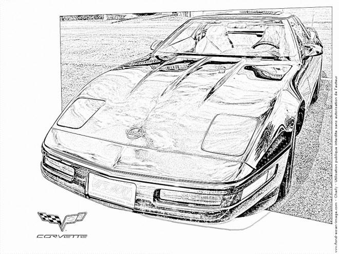 Coloriage et dessins gratuits Chevrolet 23 à imprimer
