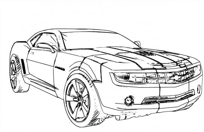 Coloriage et dessins gratuits Chevrolet 24 à imprimer
