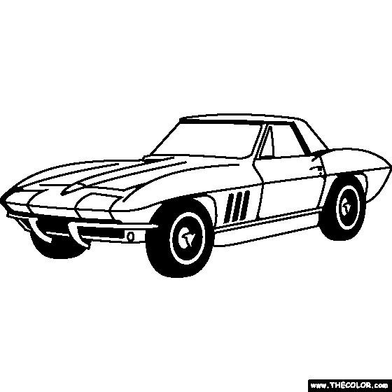 Coloriage et dessins gratuits Chevrolet 26 à imprimer