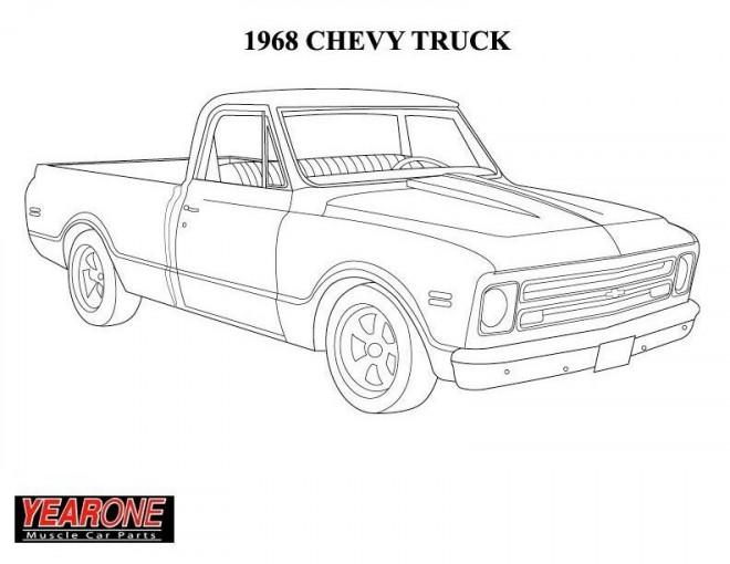 Coloriage et dessins gratuits Chevrolet 28 à imprimer