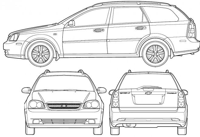 Coloriage et dessins gratuits Chevrolet 29 à imprimer