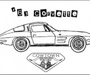 Coloriage Chevrolet 3