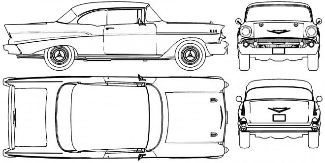 Coloriage et dessins gratuits Chevrolet 32 à imprimer