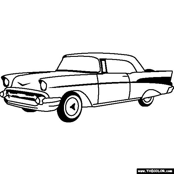 Coloriage et dessins gratuits Chevrolet 35 à imprimer