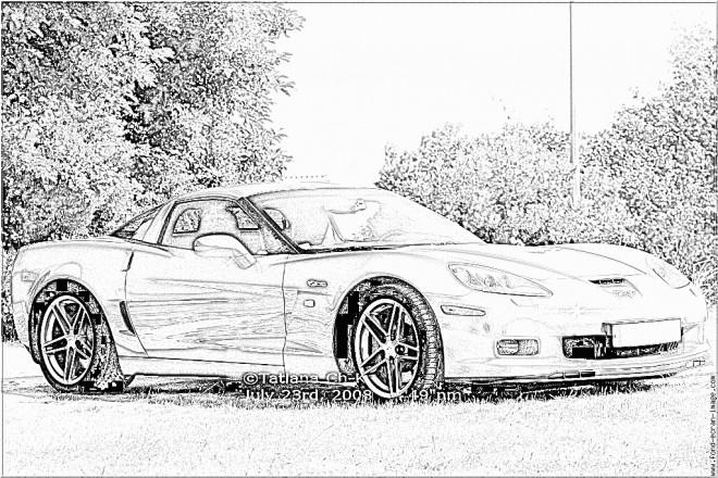 Coloriage et dessins gratuits Chevrolet 36 à imprimer
