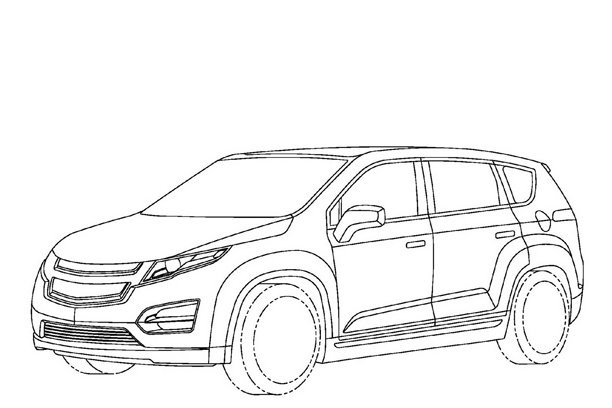 Coloriage et dessins gratuits Chevrolet 37 à imprimer