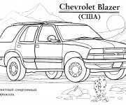 Coloriage Chevrolet 4