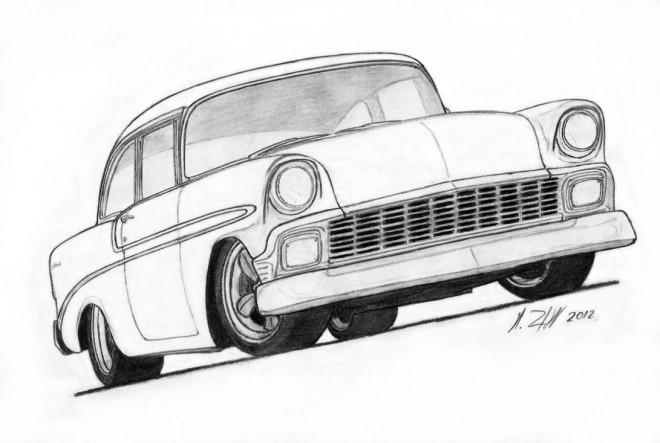 Coloriage et dessins gratuits Chevrolet 42 à imprimer