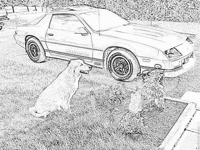 Coloriage et dessins gratuits Chevrolet 45 à imprimer