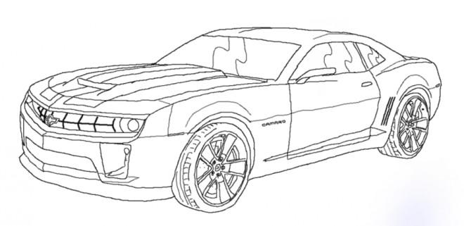 Coloriage et dessins gratuits Chevrolet 46 à imprimer