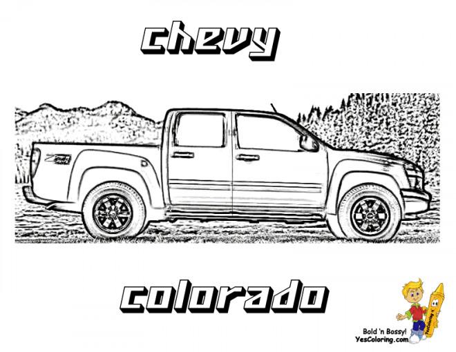 Coloriage et dessins gratuits Chevrolet 49 à imprimer