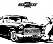 Coloriage Chevrolet 5