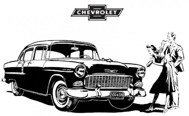 Coloriage et dessins gratuits Chevrolet 5 à imprimer