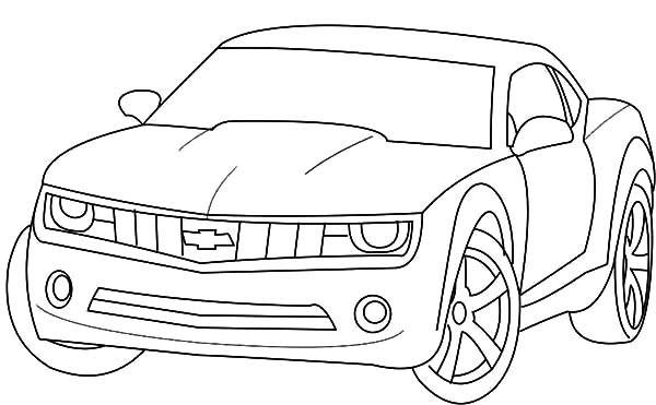 Coloriage et dessins gratuits Chevrolet 54 à imprimer