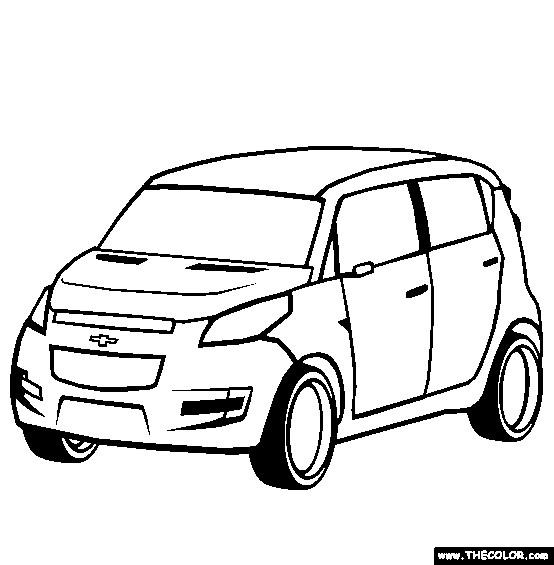 Coloriage et dessins gratuits Chevrolet 56 à imprimer