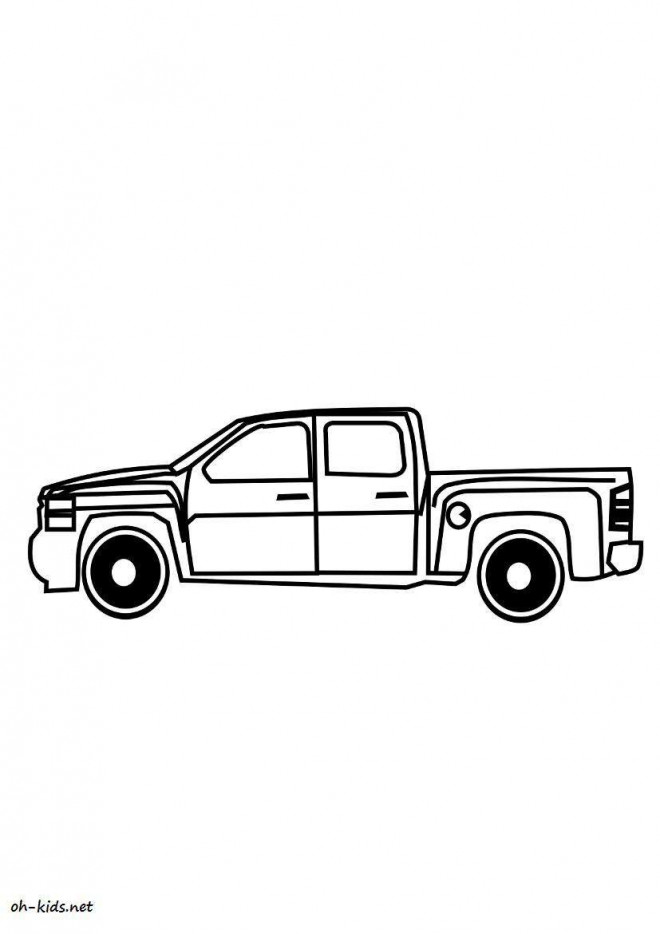 Coloriage et dessins gratuits Chevrolet 6 à imprimer