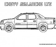 Coloriage Chevrolet 8