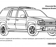 Coloriage Chevrolet 9