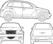 Coloriage et dessins gratuit Automobile Chrysler à imprimer