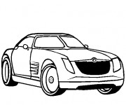 Coloriage Chrysler 2300c