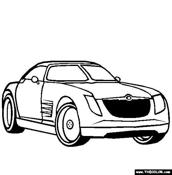 Coloriage et dessins gratuits Chrysler 2300c à imprimer
