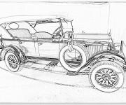 Coloriage Chrysler ancien modèle