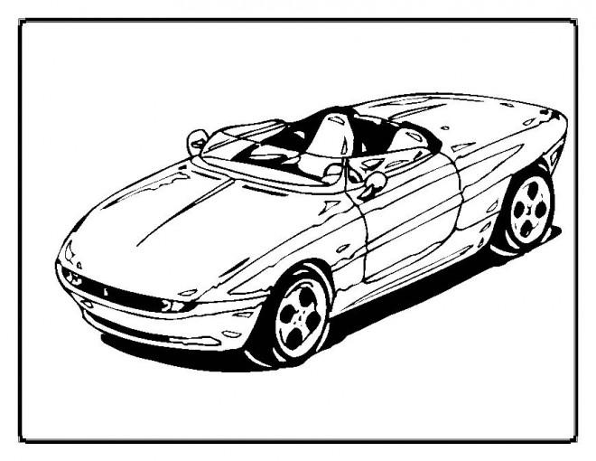 Coloriage et dessins gratuits Chrysler cabriolet à imprimer