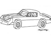Coloriage et dessins gratuit Chrysler de course à imprimer
