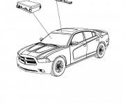 Coloriage et dessins gratuit Chrysler en couleur à imprimer
