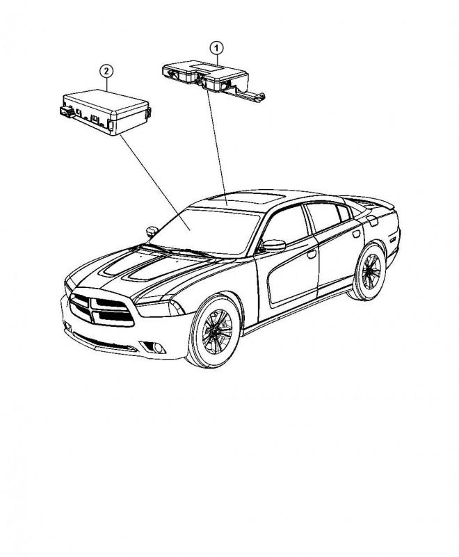 Coloriage et dessins gratuits Chrysler en couleur à imprimer