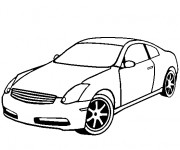 Coloriage Chrysler facile