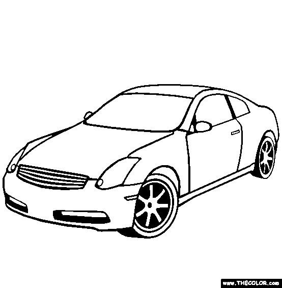 Coloriage et dessins gratuits Chrysler facile à imprimer