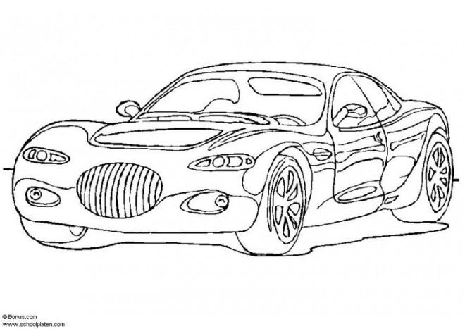 Coloriage et dessins gratuits Chrysler La voiture de Luxe à imprimer