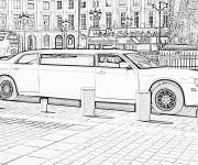 Coloriage et dessins gratuit Chrysler Limousine à imprimer