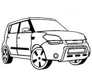 Coloriage et dessins gratuit Chrysler Pick Up à imprimer