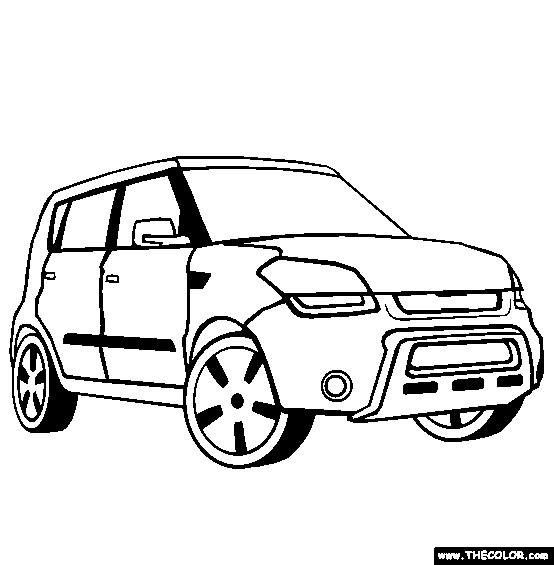 Coloriage et dessins gratuits Chrysler Pick Up à imprimer