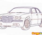 Coloriage Chrysler stylisé