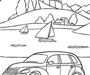 Coloriage Chrysler Voyager