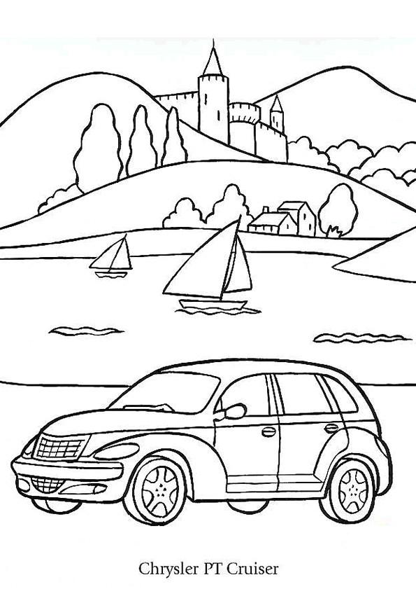 Coloriage et dessins gratuits Chrysler Voyager à imprimer