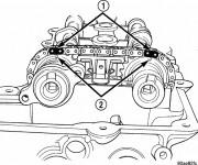 Coloriage et dessins gratuit Moteur Chrysler à imprimer
