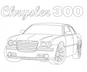 Coloriage Voiture Chrysler à colorier