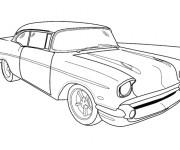 Coloriage Voiture Chrysler en ligne