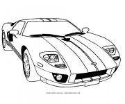 Coloriage et dessins gratuit Ferrari classique à imprimer